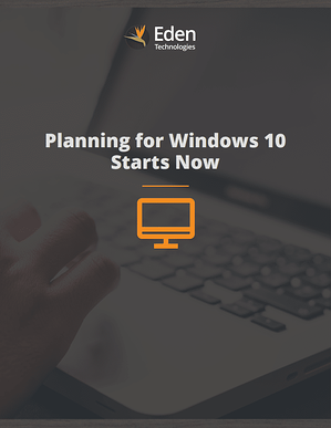 Planning for Windows 10 Starts Now